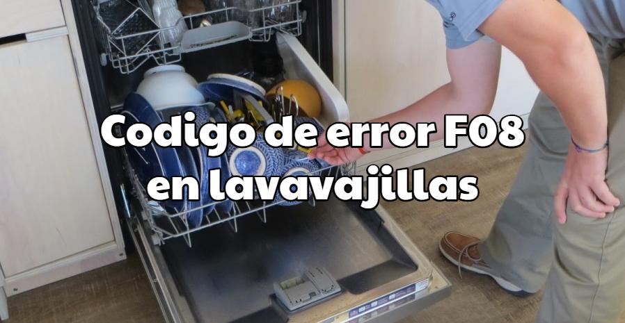 Fagor F02 Error Codigo de Error en Lavadora Fagor F02 Tenemos la